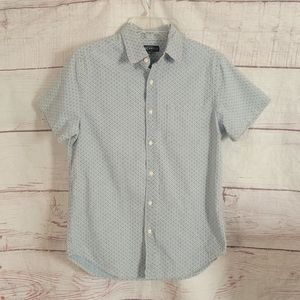J. Crew Mercantile Printed Button Front Shirt NWT